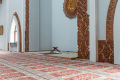 Mosque Istiqlal In Sarajevo Interior Royalty Free Stock Image