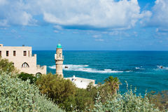 Mosque in Jaffa Stock Image