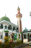 Mosque. Jami Baiturrahman Mosque at Pangkep Indonesia royalty free stock images