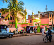 Mosque. Jinja, Uganda - September 2015 - A mosque in Jinja town. This area of Jinja is mostly occupied by the ''bachotara'' people, who are a product of Stock Photography
