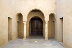 Mosque of Kairouan. Door in mosque of Kairouan Stock Photography