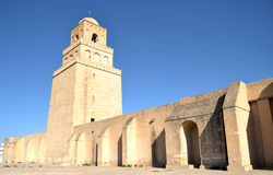 Mosque of Kairouan - Tunisia Stock Photography