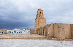 Mosque in Kairouan, Tunisia Royalty Free Stock Photos