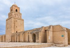 Mosque in Kairouan, Tunisia Stock Photography
