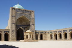 Mosque Kalon, Bukhara, Uzbekistan. Mosque Kalon, worth point of seeing in Bukhara, silk road, Uzbekistan, Asia Royalty Free Stock Photo