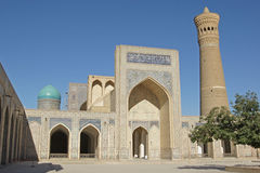 Mosque Kalon, Bukhara, Uzbekistan Royalty Free Stock Photos