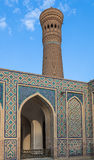 Mosque Kalon and Kalyan minaret, Historic centre of Bukhara, Uzbekistan Royalty Free Stock Images
