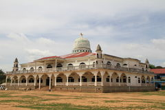 Mosque In Kampong Cham Royalty Free Stock Photo