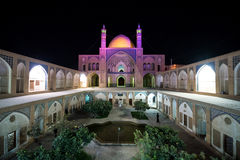 Mosque in Kashan Royalty Free Stock Image
