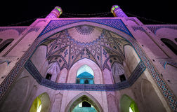 Mosque in Kashan Stock Photos