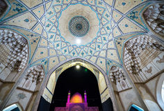 Mosque in Kashan Royalty Free Stock Photos