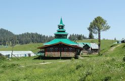 Mosque in kasmir Stock Photos