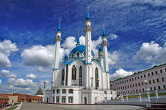 Mosque. Kazan. Qolsharif (Kul Sharif) Mosque. Kazan Kremlin. Russia Stock Images