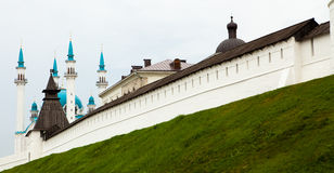 The mosque  in Kazan. The mosque  in the city of Kazan Royalty Free Stock Photos