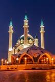 Mosque. kazan. Kul Sharif mosque in Kazan Kremlin Royalty Free Stock Photos