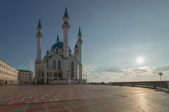Mosque. In Kazan in the evening Stock Image