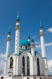 Mosque in Kazan Kremlin Royalty Free Stock Photos