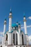 Mosque in Kazan Kremlin. Europe's largest mosque Kul-Sharif. Russia. Kazan Royalty Free Stock Photos