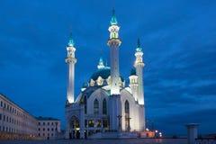 Mosque in Kazan Kremlin Stock Photography