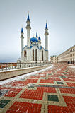 The mosque in the Kazan Kremlin. Stock Images