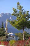 Mosque in Kemer, Turkey Stock Photo
