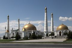 Mosque in Kipchak and mausoleum, in which the former president o Royalty Free Stock Photography