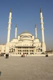 Mosque Kocatepe camii. In Ankara Royalty Free Stock Photography