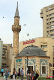 Mosque on Konak square, Izmir, Turkey Stock Photography