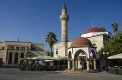 mosque in kos Royalty Free Stock Image
