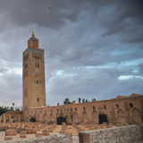 Mosque of Koutoubia in Marrakech, Morocco Royalty Free Stock Photography