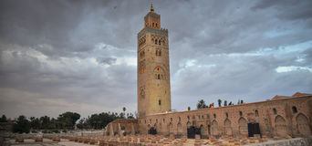 Mosque of Koutoubia in Marrakech, Morocco Stock Photography