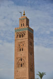 Mosque of Koutoubia in Marrakech, Morocco Stock Images