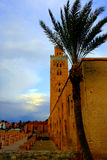 Mosque of Koutoubia, Marrakech, Morocco Stock Images