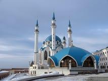 Mosque Kul-Sharif. In kremlin of Kazan Royalty Free Stock Photos
