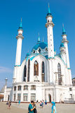 Mosque Kul-Sharif. 16 August, 2014  mosque Kul-Sharif, Kazan Kremlin,Kazan, Russia Stock Photos