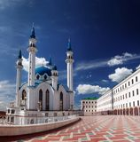 Mosque Kul Sharif Kazan Stock Photo