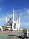 The Mosque Kul Sharif. In Kazan Kremlin Stock Image