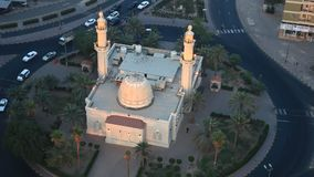 Mosque in Kuwait stock video