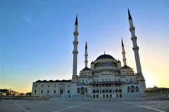 Mosque, Landmark, Dome, Place Of Worship stock photography