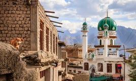 Mosque in Leh Stock Photo