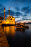 Mosque in Long Exposure Royalty Free Stock Image