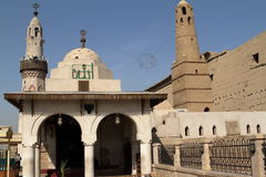 Mosque of Luxor in Egypt Royalty Free Stock Image