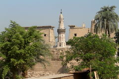 Mosque of Luxor in Egypt Royalty Free Stock Photography