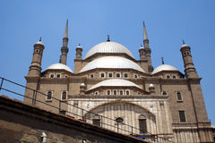 Mosque M. Ali in cairo. M. Ali Mosque at Citadel in cairo royalty free stock images