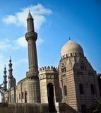 The Mosque-Madrassa of Sultan Hassan. Is a massive Mamluk era mosque and madrassa located near the Citadel in Cairo Stock Photography