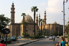 Mosque-Madrassa of Sultan Hassan. Cairo. Egipt Stock Photography