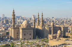 Mosque-Madrassa of Sultan Hassan in Cairo, Egypt Royalty Free Stock Photos