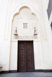 Mosque main door Royalty Free Stock Photo