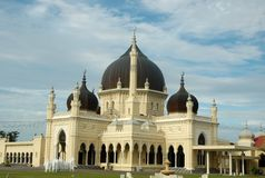 Mosque in Malaysia Royalty Free Stock Photo
