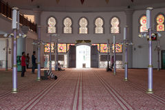 Mosque in Malaysia. Mosque near the sea in Malaysia Stock Photography